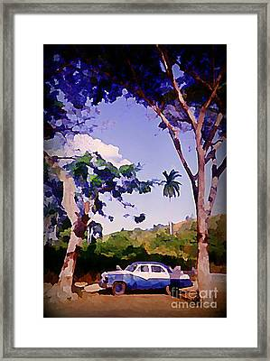 Nice Parking Spot Framed Print