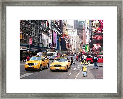 Nice Place Ta Visit...but Framed Print by Robert Stagemyer