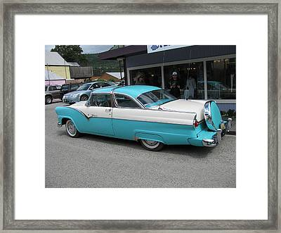 Nice Ride Framed Print by Steven Parker