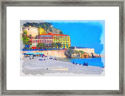 Nice Riviera 1 Framed Print by Yury Malkov