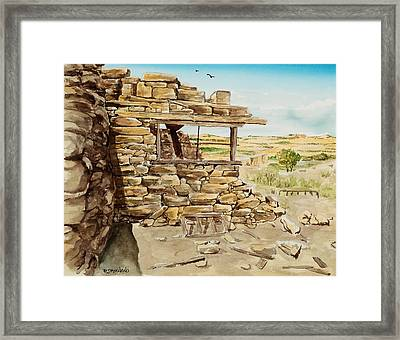 Nice View Framed Print