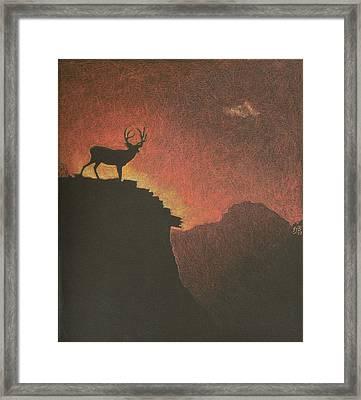 Nice View Framed Print