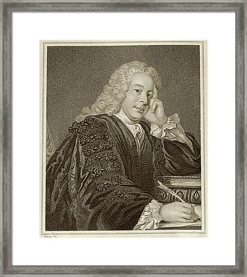 Nicholas Hardinge Framed Print by Middle Temple Library