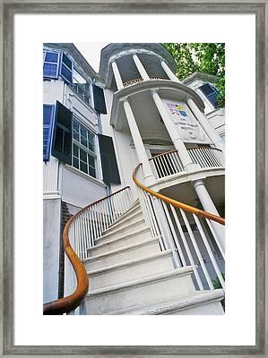 Nicholas Ware Mansion, Augusta, Georgia Framed Print