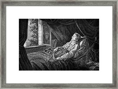 Nicholo Paganini Framed Print