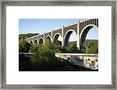 Nicholson Bridge Framed Print