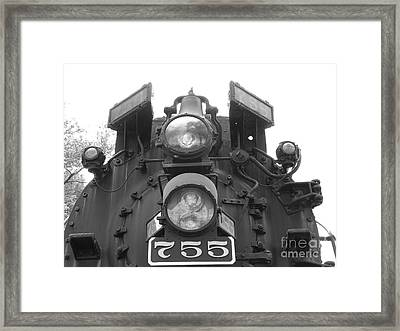 Nickel Plate Framed Print