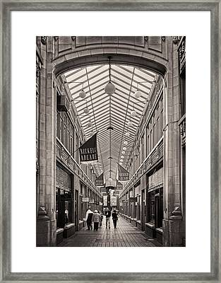 Nickels Arcade Framed Print