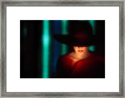 Nicki Framed Print by Bobby Pack Jr