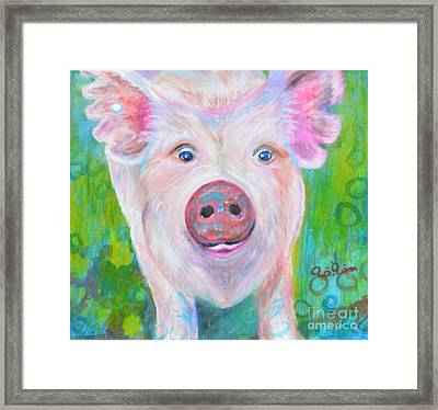 Nicki 's Portrait Framed Print