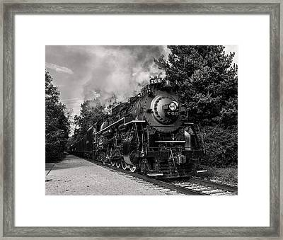Nickel Plate Berkshire 765 Framed Print