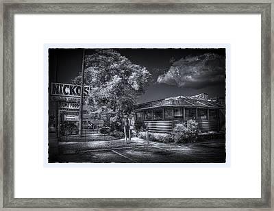 Nicko's Restaurant Framed Print