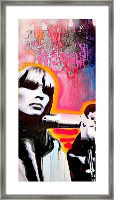 Nico Framed Print by dreXeL