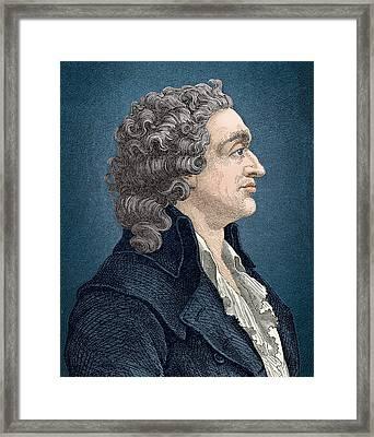 Nicolas De Condorcet, French Framed Print