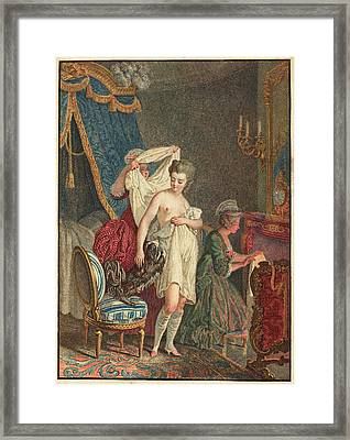 Nicolas Francois Regnault French Framed Print by Quint Lox