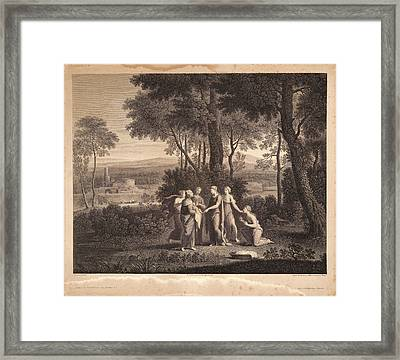 Nicolas Poussin French, 1594 - 1665. Untitled Moses Framed Print