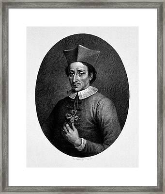 Nicolas Steno Framed Print by National Library Of Medicine