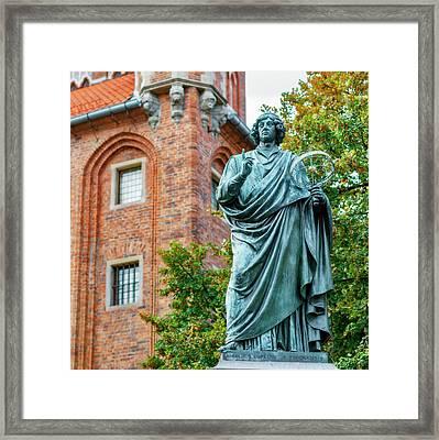 Nicolaus Copernicus Monument Framed Print
