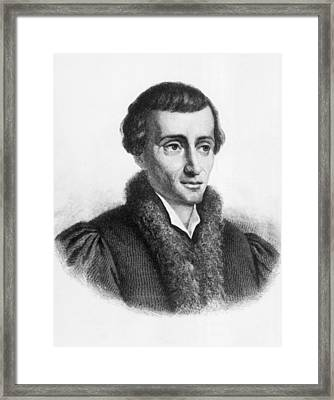 Nicolaus Copernicus Framed Print by Underwood Archives