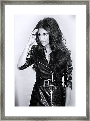 Nicole Scherzinger 1 Framed Print by Jez C Self