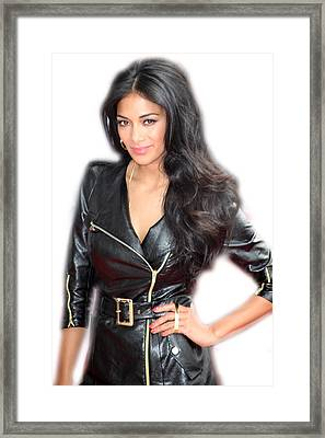 Nicole Scherzinger 10 Framed Print by Jez C Self