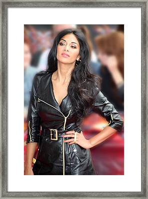 Nicole Scherzinger 12 Framed Print by Jez C Self