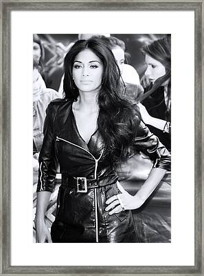 Nicole Scherzinger 13 Framed Print by Jez C Self