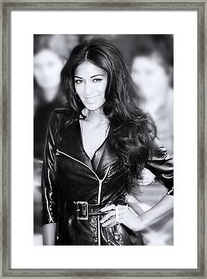 Nicole Scherzinger 20 Framed Print by Jez C Self