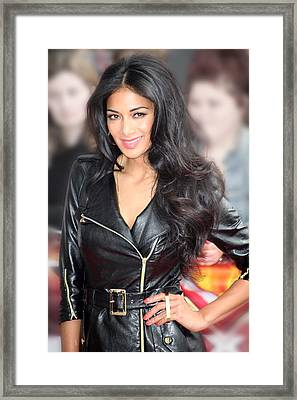 Nicole Scherzinger 21 Framed Print by Jez C Self