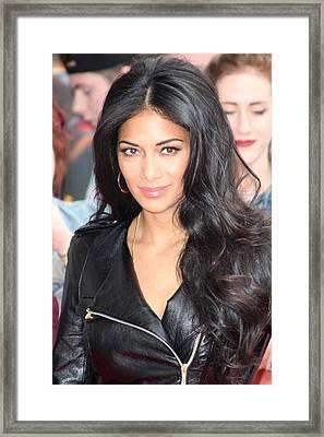 Nicole Scherzinger 6 Framed Print by Jez C Self