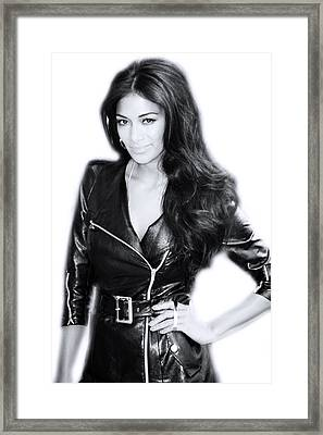 Nicole Scherzinger 9 Framed Print by Jez C Self