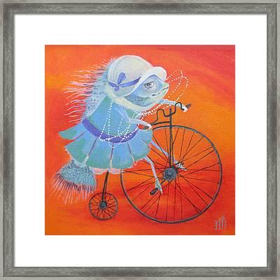 Niece Sonia Framed Print