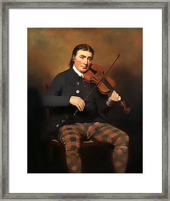 Niel Gow - Violinist And Composer Framed Print