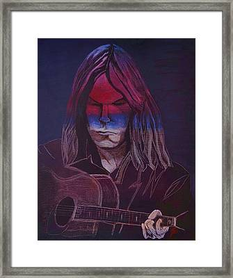 Neil Young   Patriot Framed Print