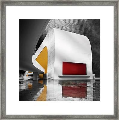 Niemeyer Center (avila?s, Spain) Framed Print