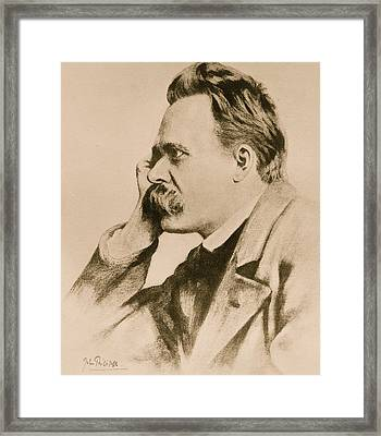 Nietzsche Framed Print by Anonymous