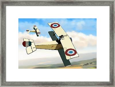 Nieuport 11 Bebe Framed Print