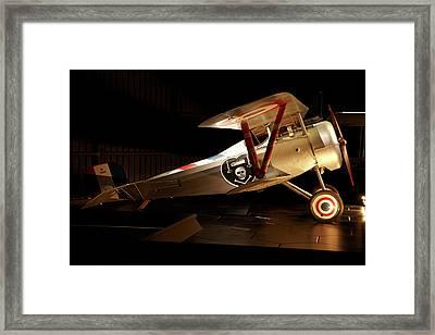 Nieuport 24 Biplane, Omaka Aviation Framed Print