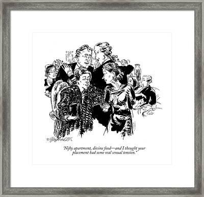 'nifty Apartment Framed Print by William Hamilton