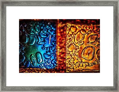 Night And Day Framed Print by Omaste Witkowski