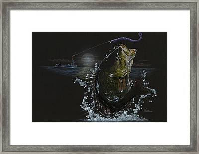 Night Bass Framed Print
