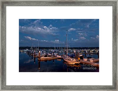 Night Beckons Framed Print by Beve Brown-Clark Photography