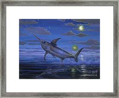 Night Bite Off0066 Framed Print by Carey Chen