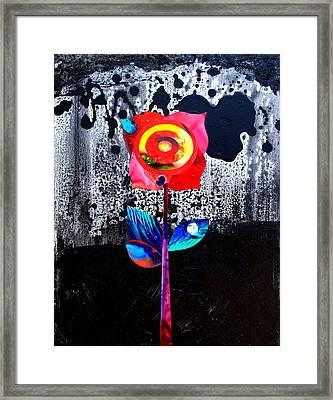 Night Bloomer Framed Print