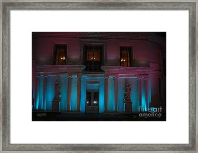 Framed Print featuring the photograph Night Blue by George Mount