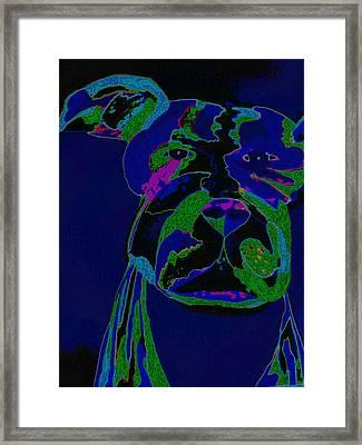 Night Boss Framed Print by Erica  Darknell