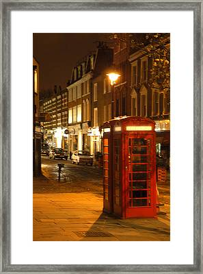 Night Call Framed Print by Mike McGlothlen