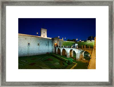 Night Castle Framed Print by Ioan Panaite