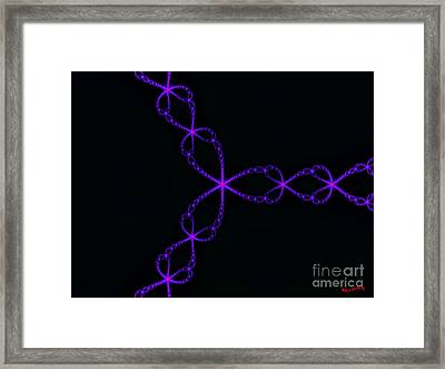 Night Chain Framed Print by Bobby Hammerstone