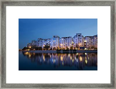 Night City Framed Print by Ioan Panaite